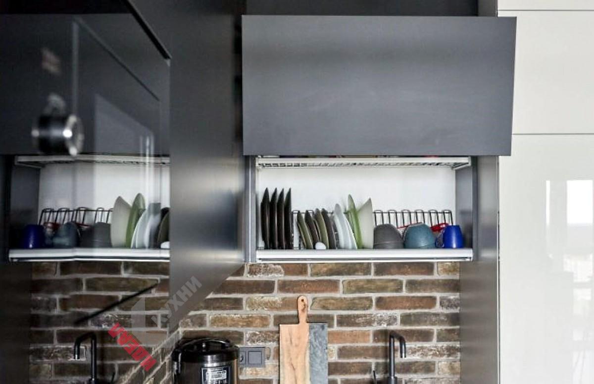 Кухня из пластика FENIX NTM №011