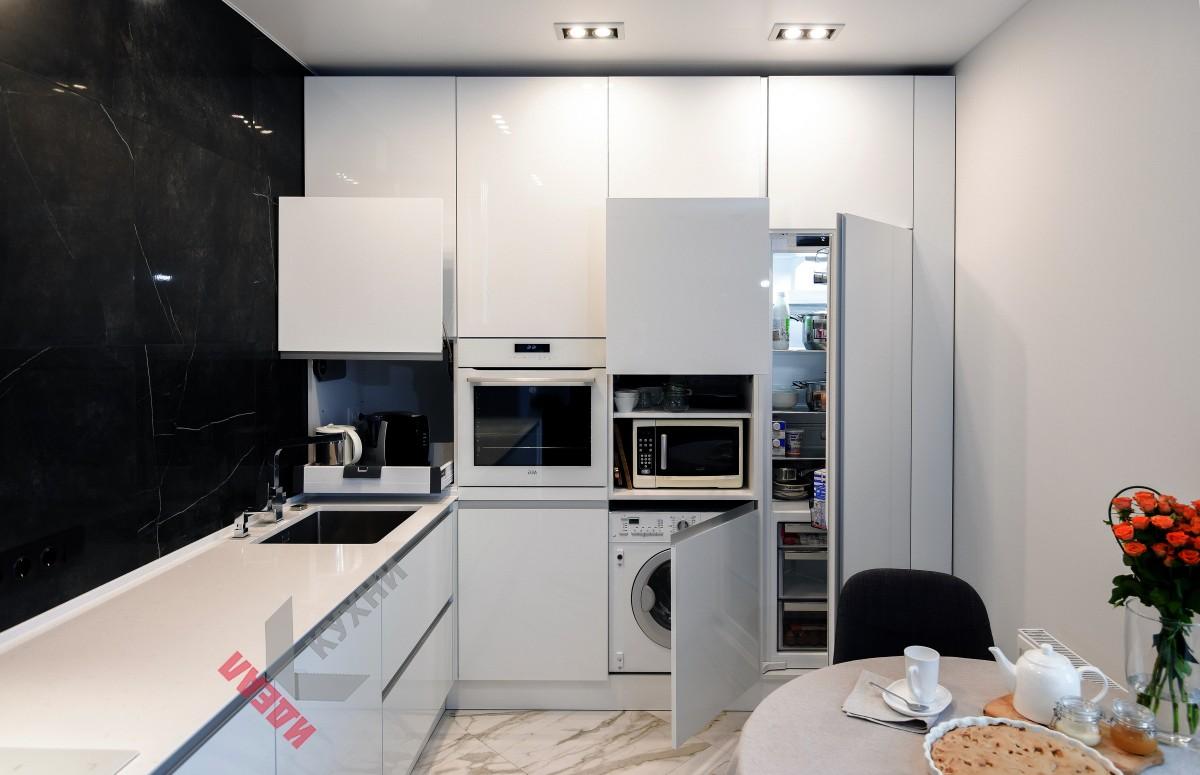 Кухня из пластика FENIX NTM №012