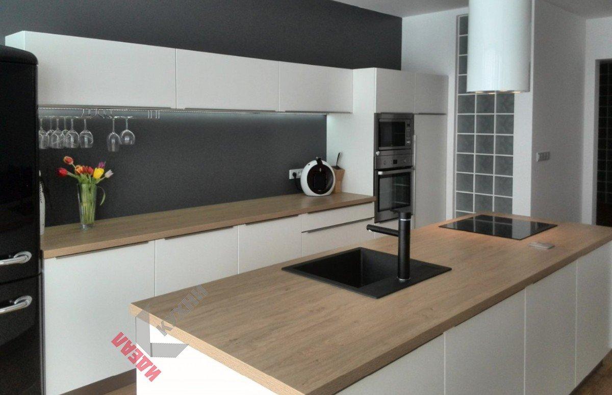 Кухня из акрила №001